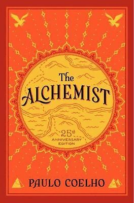 The Alchemist by Paulo Coelho 2014,25th Anniversary Hardcover with Dust Jacket