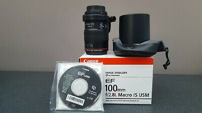 Canon EF 100mm F/2.8 L IS USM  Macro Lens with 3rd party tripod collar