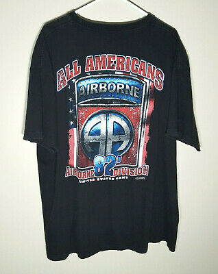 82nd Airborne T-Shirt by 7.62 Designs | Official US Military Infantry | Mens 2XL