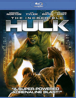 The Incredible Hulk (Blu-ray Disc, 2012) Free SHipping