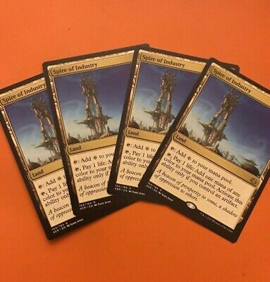 x4 ** Mtg Magic Aether Revolt ** 4x Spire of Industry NM!