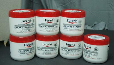 2 PACK OF EUCERIN ORIGINAL HEALING CREAM 16oz ! 3 sets of 2 available    Y999