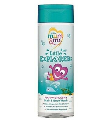 2 x Cussons Mum & Me Little Explorers Hair & Body Wash 250ml Each Childrens kids