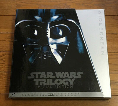 STAR WARS TRILOGY Special Edition COLLECTOR'S SET LD Laser Disc Japan