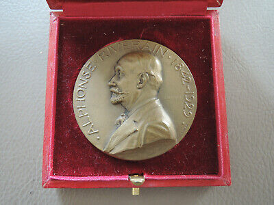 Medaille Alphonse RIVERAIN caisse locale de MOREE french medal CANALE