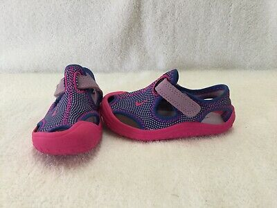 3d4bd75714f6 Nike Sunray Protect Toddler Girls Pink Purple Sandals water Shoes~size 5 C