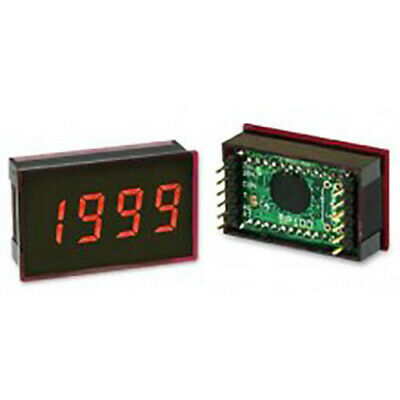 Lascar SP 100 3 1/2-Digit LED Voltmeter w/200 mV DC, 12-Pin DIL, Clip
