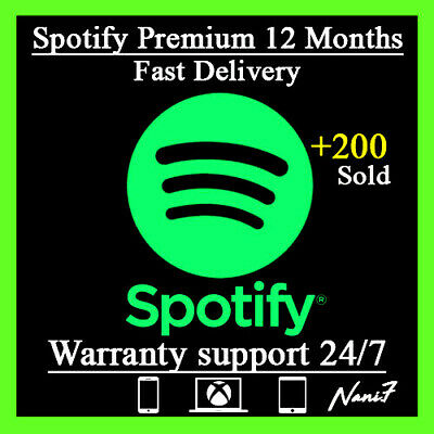 ⭐spotify Premium Worldwide 12 Months Read Description Music 1⭐ Year Fast Delivery⭐