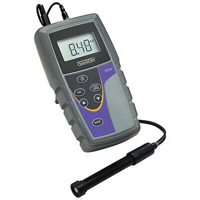 Oakton WD-35643-12 DO 6 Dissolved Oxygen Meter w/Probe, Sol., Caps
