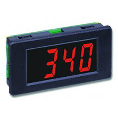 Lascar DPM 340 3 1/2-Digit LED Voltmeter w/200 mV DC, Snap-in Bezel