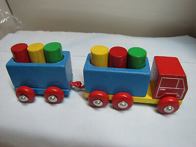 Early Learning Wooden Push Toy Heros qualityMade HERMANN ROSSBERG NNOS EB-H01-04