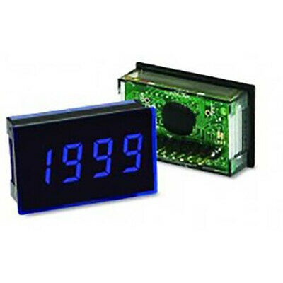 Lascar SP 300-BLUE 3 1/2-Digit LED Voltmeter w/200 mV DC, Blue LED