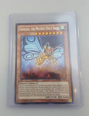 Gadarla the Mystery Dust Kaiju BOSH-EN087 Yu Gi Oh Trading Card Game Konami 1996