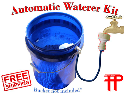 Build Kit for Automatic Dog Waterer -  Self-filling Never Empty Pet Water Bowl