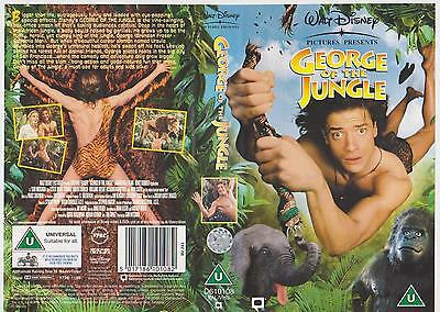 Disney's George Of The Jungle (1998) VHS VIDEO CERT U TAPE SEALED - SEE LISTING
