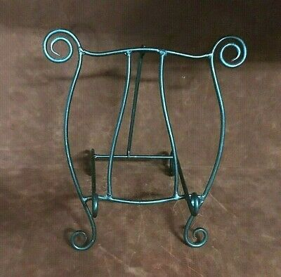Vintage Wrought Iron Metal Counter Top Cookbook/Book Holder