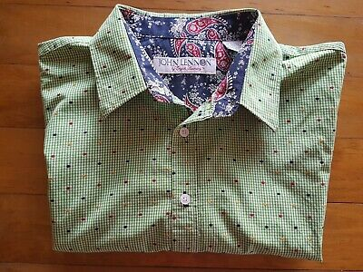 Quirky John Lennon by English Laundry Long Sleeved Shirt XL BNWOT FREE POST