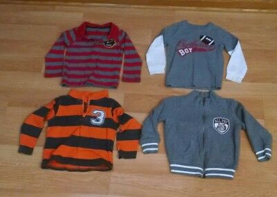 Lot of 4 Carter's Boys Toddler Size 4T. Long Sleeve Shirts