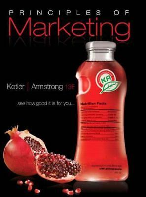 Principles of Marketing by Gary Armstrong and Philip Kotler (2008, Hardcover)