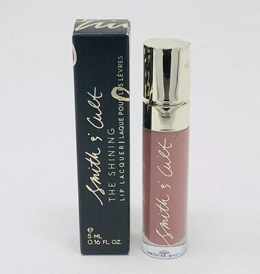 SMITH & CULT The Shining Lip Lacquer in NOW KITH Nude Pink Full Size 0.16 oz NIB