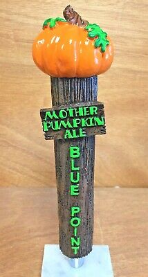 Blue Point Brewing Co  Mother Pumpkin Ale Tap Handle - New & Free Ship - 10""