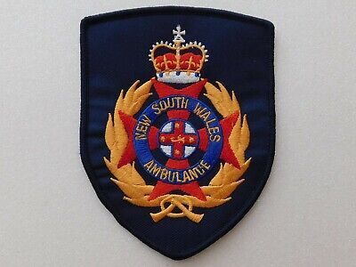 New South Wales Ambulance Blue Patch Social / Not Official