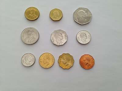 Complete Set of New Uncirculated Tanzanian Coins