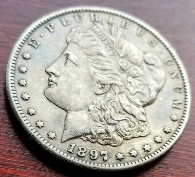 1897 S Morgan Silver Dollar    D23