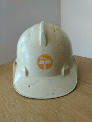 Vintage Telecom Foreman Helmet Telephone Advertising Industrial Commercial Retro