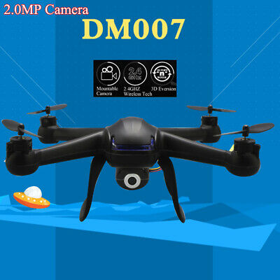 DM007 2.4G 4CH Explorer RC Quadcopter 6 Axis Gyro Drone with 2.0MP HD Camera RTF