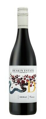 Deakin Estate Shiraz 2018 (12 x 750mL), Murray Darling, VIC.