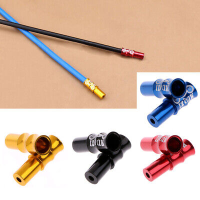 Replacement End Caps Tips Crimps Shifter Cable Inner 4 Colors Mounted 10Pcs 5mm