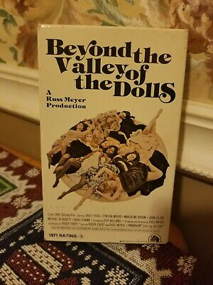 Beyond The Valley Of The Doll Beta Movie Tape