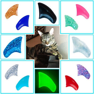 Soft Nail Caps for Cat Paws - FULL YEAR Supply Complete Kit - Pretty Claws Brand