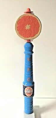 "UFO Big Squeeze Shandy Beer Tap Handle - VGC & Free Shipping - 16.5"" Tall"