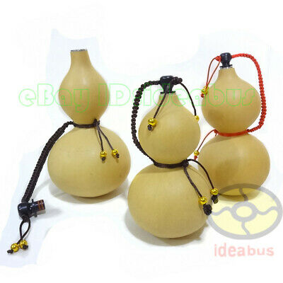"""(7.8""""~9.5""""tall)Potable Natural Real Dried Wine Bottle Gourd Type decor ornaments"""
