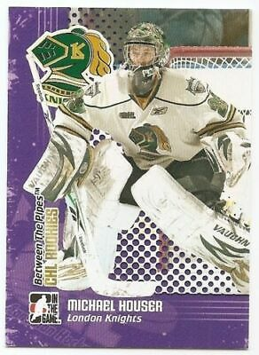 09/10 BETWEEN THE PIPES CHL ROOKIES Hockey (#CR1-CR9) U-Pick From List