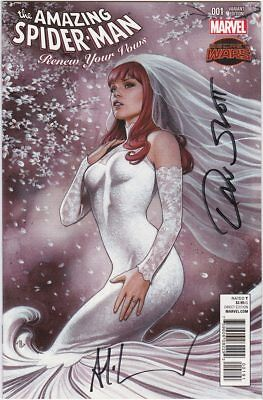 The Amazing Spider-Man Renew Your Vows #1 Variant Signed