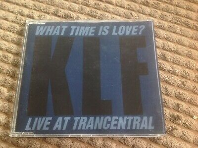 KLF - What Time Is Love Rare CD single Live at Trancentral