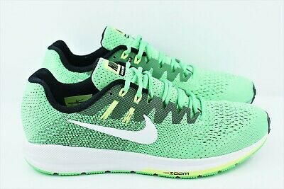 best loved f3cc3 051a9 WOMENS NIKE AIR Zoom Structure 20 Running Shoes Size 11 Green 849577 301