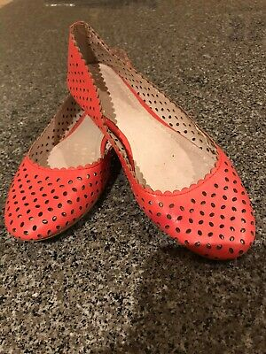 David Lawrence ballet flats. Size 38. As new