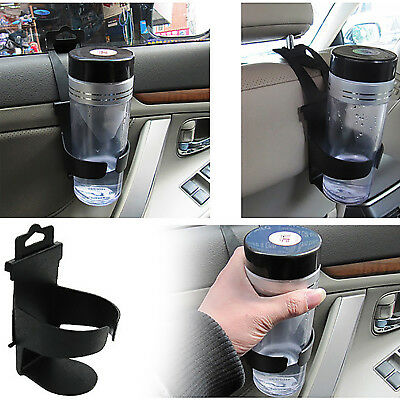 2x Universal Car Cup holder Truck Drink Water Cup Bottle Holder Door Mount Stand