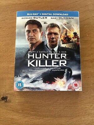 * Hunter Killer * Blu-ray * Gerard Butler *
