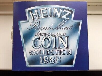 1983 Royal Mint UK Heinz Uncirculated Set - 2, 5 & 10p only available in sets