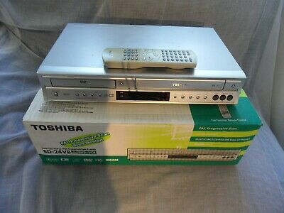 TOSHIBA SD-24VBSB DVD Player VHS VCR & Video Recorder Player,Combo,Combi