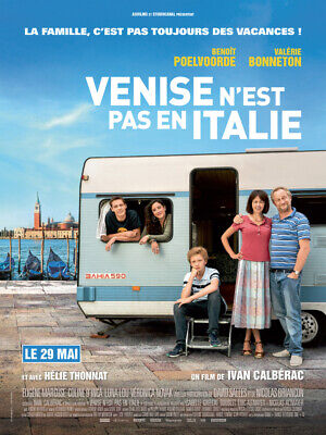 VENISE N'EST PAS EN ITALIE - Affiche cinema 40X60 - 120x160 Movie Poster