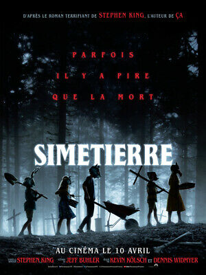 SIMETIERRE - Affiche cinema 40X60 - 120x160 Movie Poster