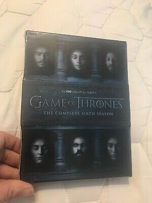 Game of Thrones: The Complete 6th Season (DVD, 2016, 5-Disc Set)