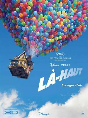 Là-haut walt disney  - Affiche cinema 40X60 - 120x160 Movie Poster