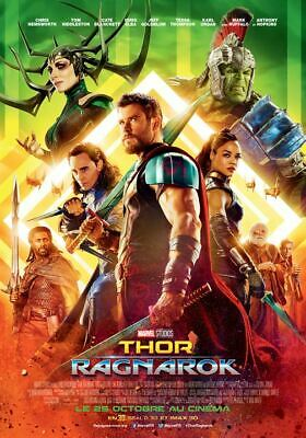 Thor : Ragnarok walt disney  - Affiche cinema 40X60 - 120x160 Movie Poster